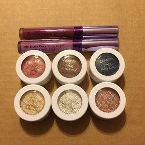 Colour Pop Super Shock Shadow and Lip bundle